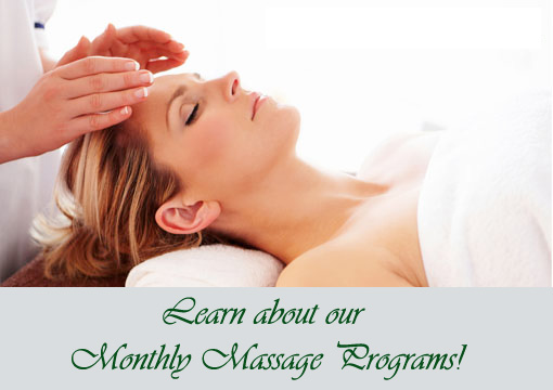 Monthly Massage Programs